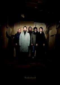 Radiohead Dark Poster