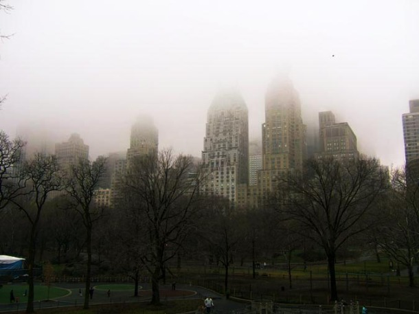 New York in the Fog