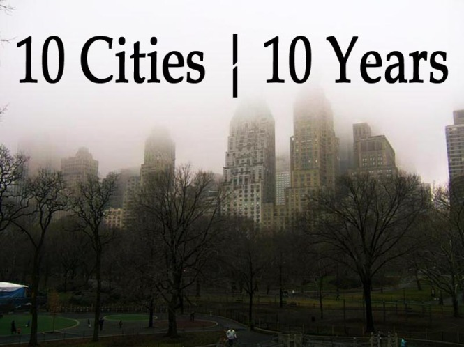 10 Cities Fog