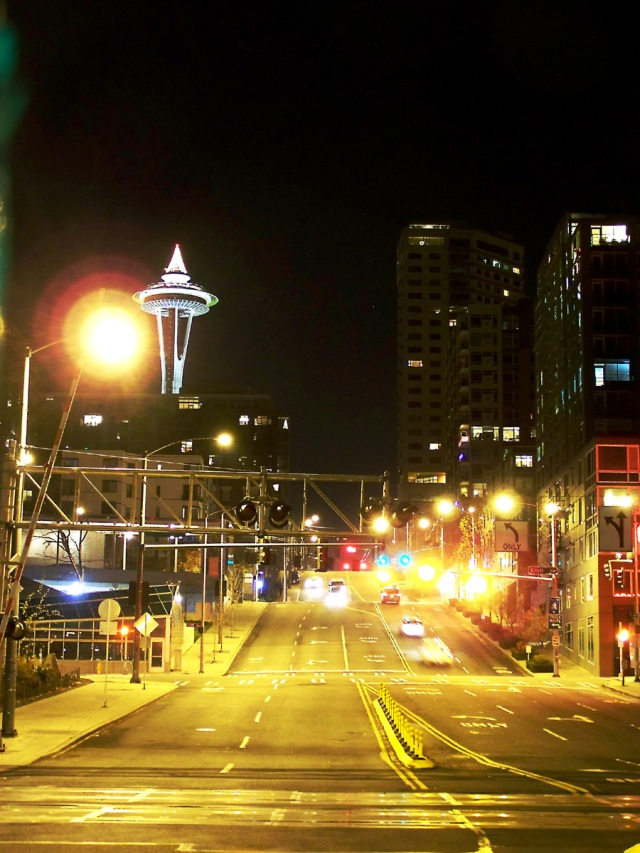 Space Needle (at Night)