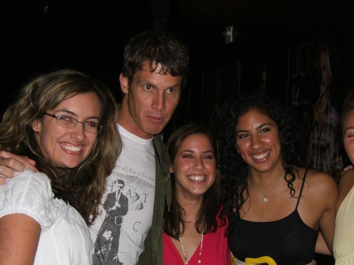 Daniel Tosh with Fans