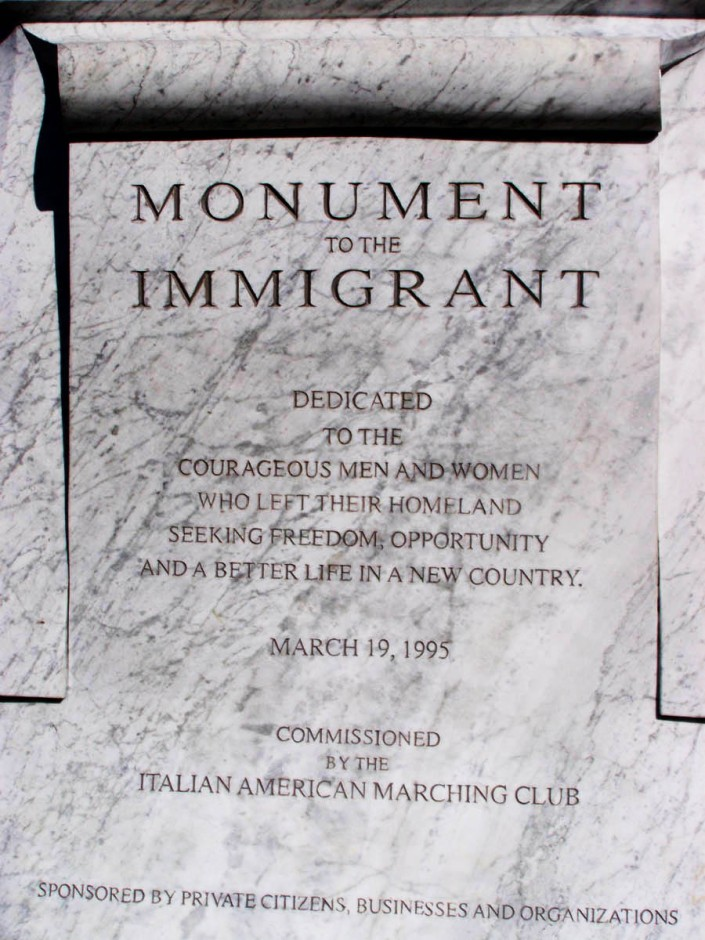 Monument of the Immigrant