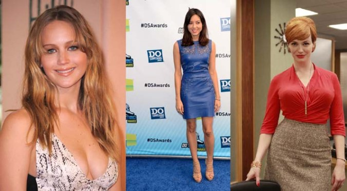 Jennifer Lawrence, Aubrey Plaza, Christina Hendricks
