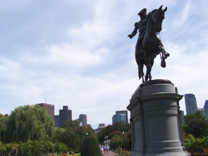 George Washington at Public Garden