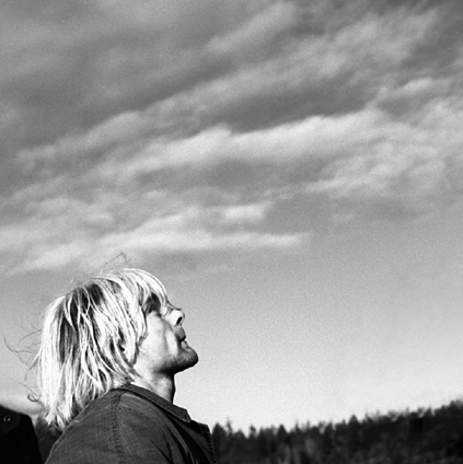 kurt staring at the sky