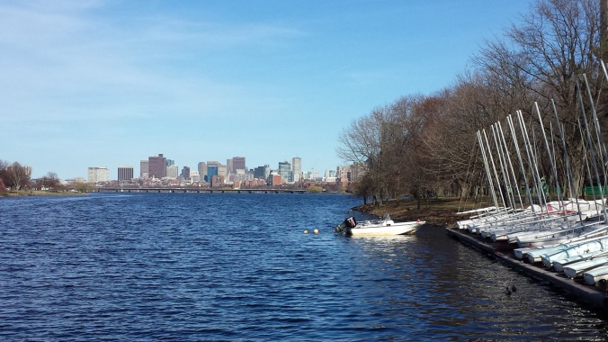 Boston from Charles