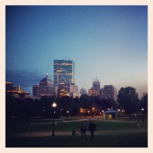 Boston in the Gloaming