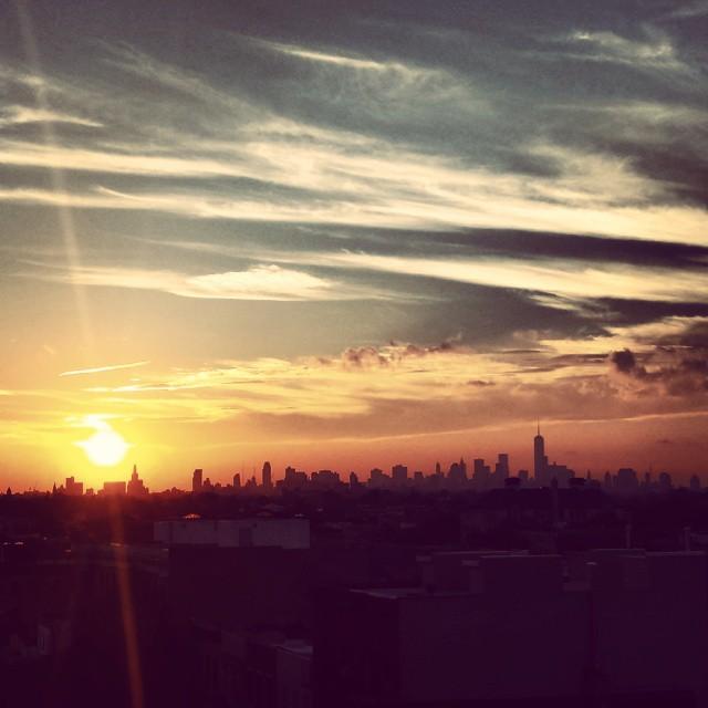 Sunset on 911