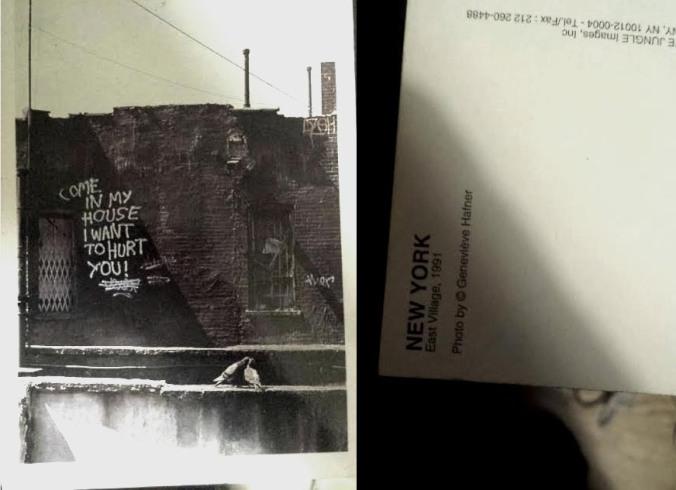 East Village Postcard