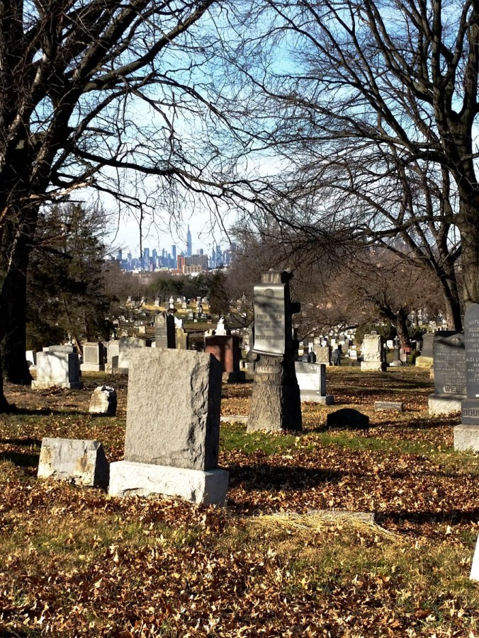Manhattan from the Cemetery