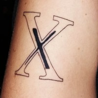 X in X: The Project Gets A Tattoo