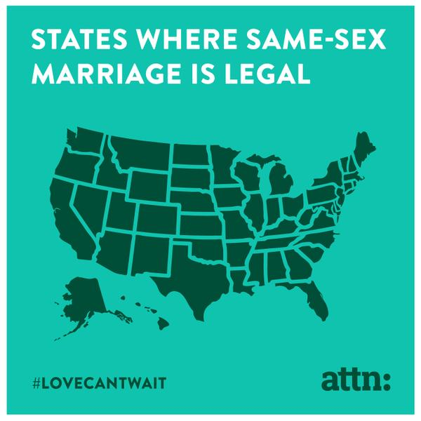 States Where Same Sex Marriage Is Legal