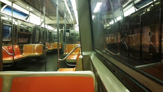 Empty Subway