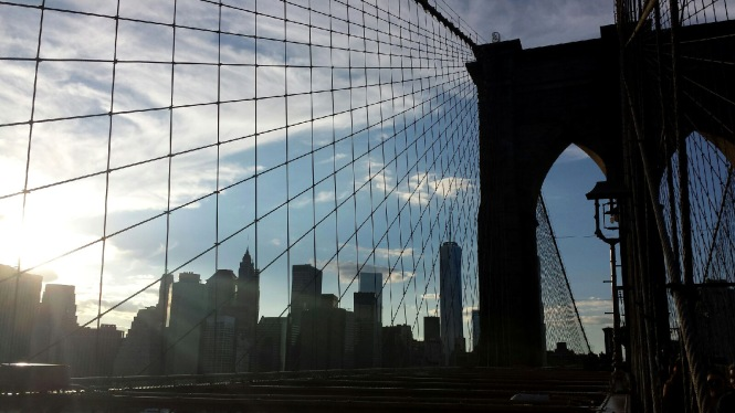 Manhattan from Brooklyn Bridge