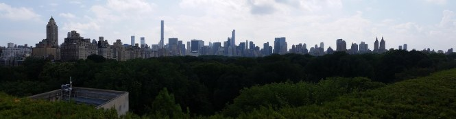 Manhattan Skyline (from the Met) Pana
