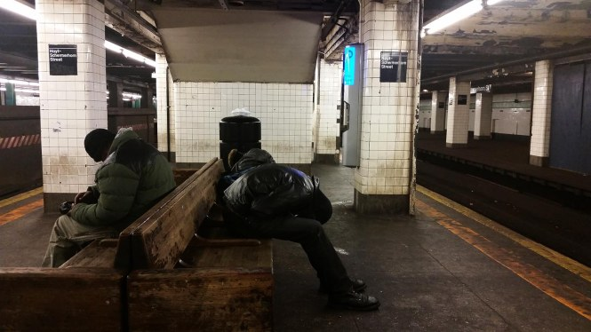 Subway Snooze