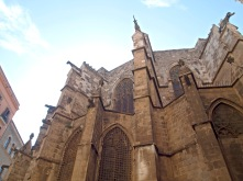 Catedral de Barcelona (Rear)