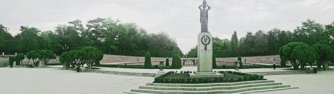 Monumento a Jacinto Benavente (Green)