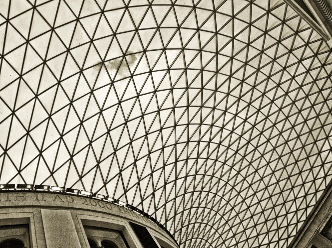 British Museum Ceiling (BW)