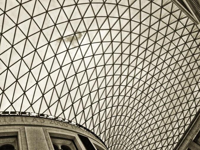 British Museum Ceiling (BW)