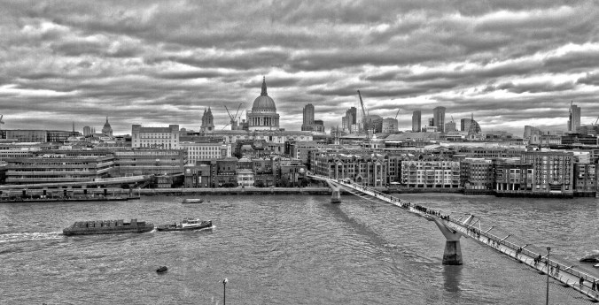 London on the Thames (from Tate)