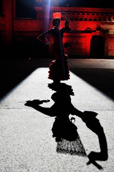 Bailarin en la oscuridad