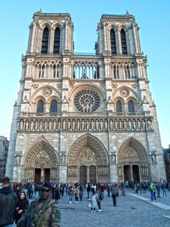 Notre Dame Eyes