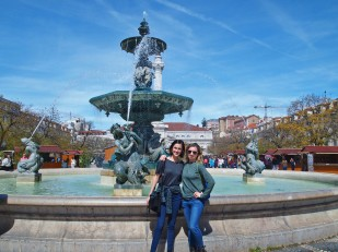 Calla and Casey Fountain