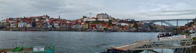 Porto from the Docks Pana