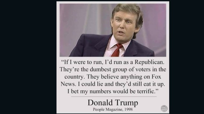False Trump Quote